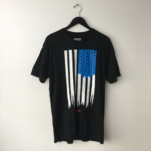 Levis Strauss Co Graphic Tee Shirt Black L Large